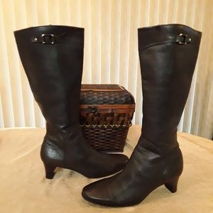Cole Haan Leather Boots, Sz 9B